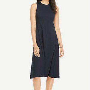 Drapey Midi Flare Dress - Ann Taylor